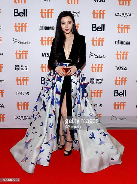 Actress Fan Bingbing attends the 'I Am Not Madame Bovary' premiere during the 2016 Toronto International Film Festival at Princess of Wales Theatre...
