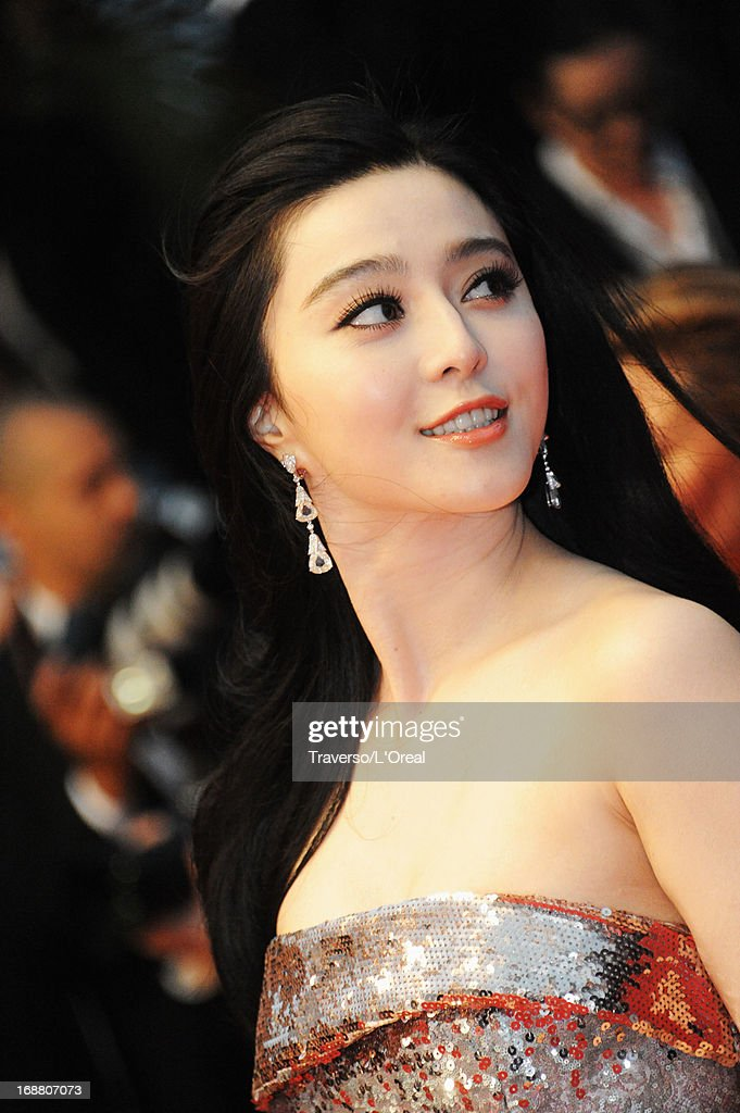Actress Fan Bingbing attends the Opening Ceremony and 'The Great Gatsby' Premiere during the 66th Annual Cannes Film Festival at the Theatre Lumiere on May 15, 2013 in Cannes, France.