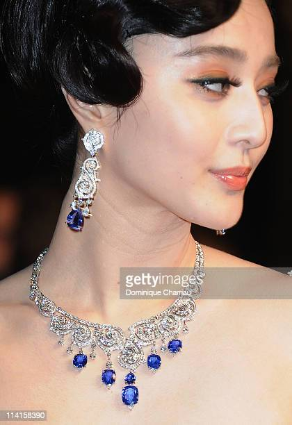 Actress Fan Bingbing attends the 'polisse' Premiere during the 64th Annual Cannes Film Festival at the Palais des Festivals on May 13 2011 in Cannes...