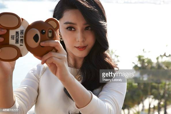 Actress Fan Bingbing is photographed for Hello magazine on May 18 2015 in Cannes France