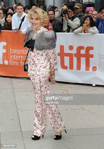 Actress Fanny Ardant attends the 'Bright Days Ahead' premiere during the 2013 Toronto International Film Festival at Roy Thomson Hall on September 13...