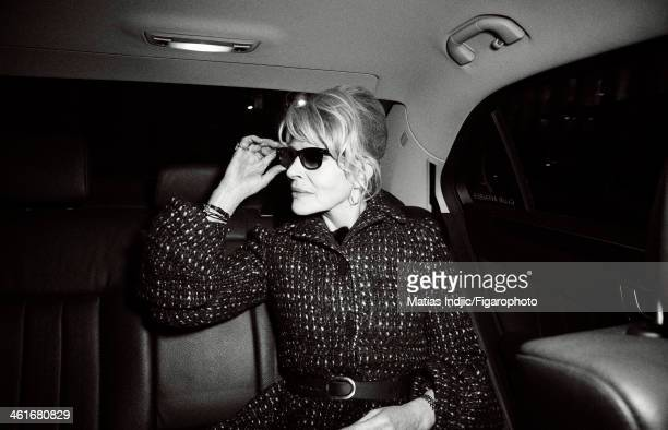 108318050 Actress Fanny Ardant is photographed for Madame Figaro on December 10 2013 in Paris France PUBLISHED IMAGE CREDIT MUST READ Matias...