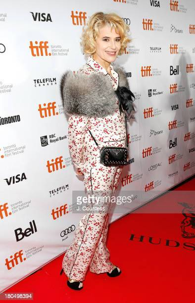 Actress Fanny Ardent attends the premiere of 'Bright Days Ahead' at Roy Thomson Hall on September 13 2013 in Toronto Canada