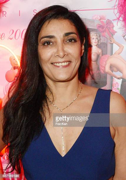 Actress Fatima Adoum attends Pink Paradise Club 15th Anniversary on March 23 2017 in Paris France