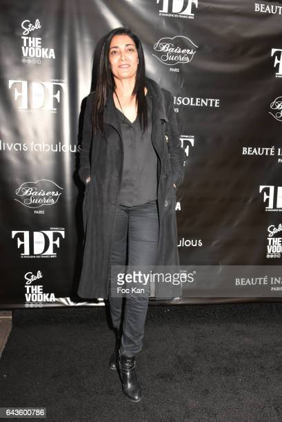 Actress Fatima Adoum attends the FDF Magazine Launch Party at Hotel Christian Dior on February 21 2017 in Paris France