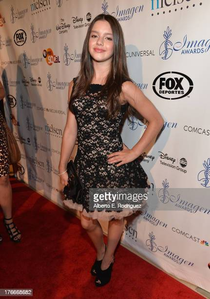 Actress Fatima Ptacek arrives to the 28th Annual Imagen Awards at The Beverly Hilton Hotel on August 16 2013 in Beverly Hills California