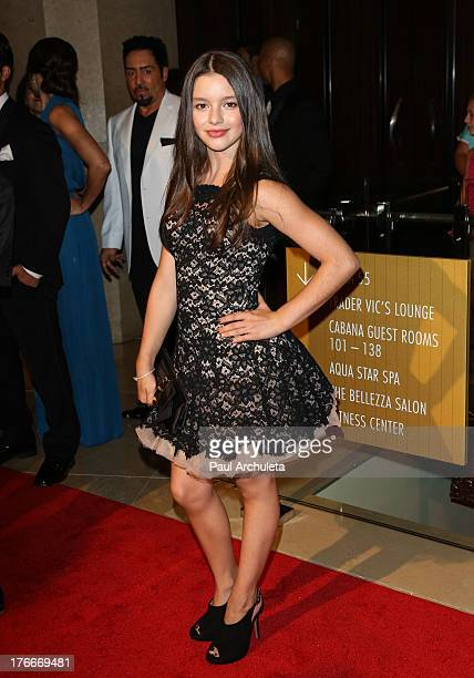 Actress Fatima Ptacek attends the 28th annual Imagen Awards at The Beverly Hilton Hotel on August 16 2013 in Beverly Hills California