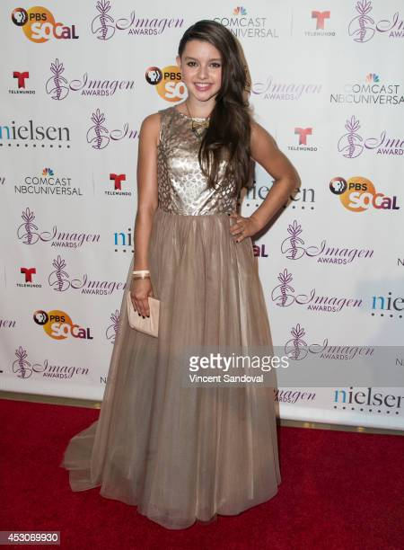 Actress Fatima Ptacek attends The 29th Annual Imagen Awards at The Beverly Hilton Hotel on August 1 2014 in Beverly Hills California