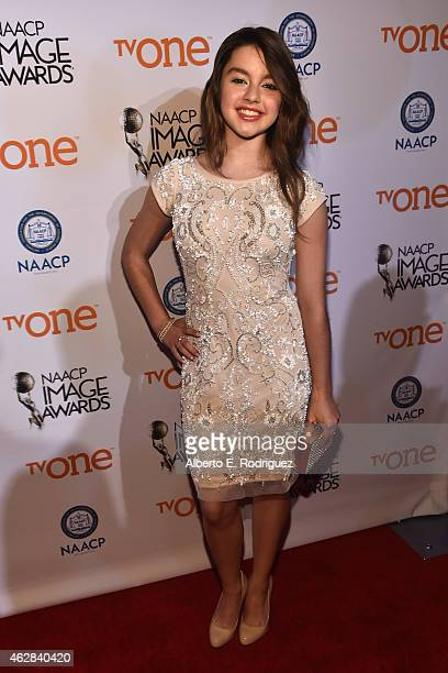 Actress Fatima Ptacek attends the 46th NAACP Image Awards NonTelevised Awards Ceremony at Pasadena Convention Center on February 5 2015 in Pasadena...