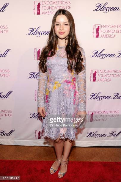 Actress Fatima Ptacek attends the Endometriosis Foundation of America's 6th annual Blossom Ball hosted by Padma Lakshmi and Tamer Seckin MD at 583...