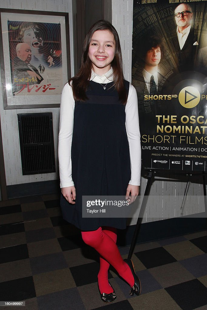 Actress Fatima Ptacek of 'Curfew' attends the NYC Theatrical Opening of Oscar Nominated Short Films at IFC Center on February 1, 2013 in New York City.