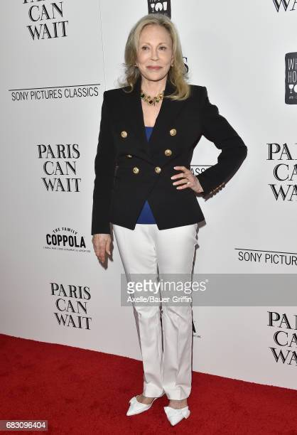 Actress Faye Dunaway arrives at the Los Angeles premiere of Sony Pictures Classics' 'Paris Can Wait' at Pacific Design Center on May 11 2017 in West...