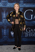 Actress Faye Dunaway arrives at the premiere of HBO's 'Game of Thrones' Season 6 at the TCL Chinese Theatre on April 10 2016 in Hollywood California