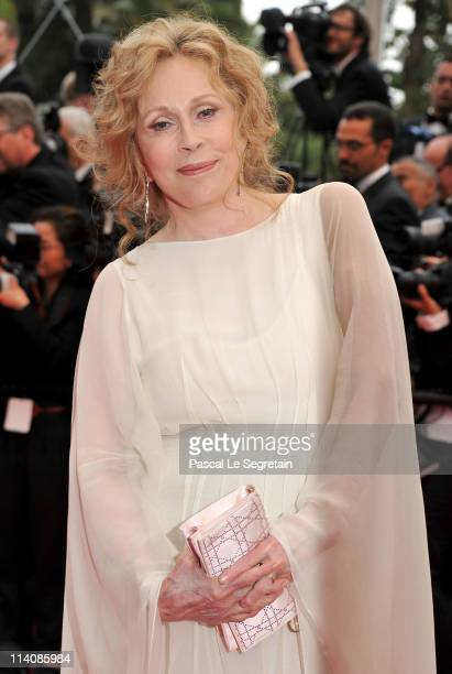 Actress Faye Dunaway attends the Opening Ceremony at the Palais des Festivals during the 64th Cannes Film Festival on May 11 2011 in Cannes France