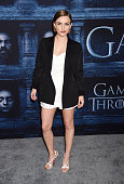 Actress Faye Marsay arrives at the premiere of HBO's 'Game of Thrones' Season 6 at the TCL Chinese Theatre on April 10 2016 in Hollywood California