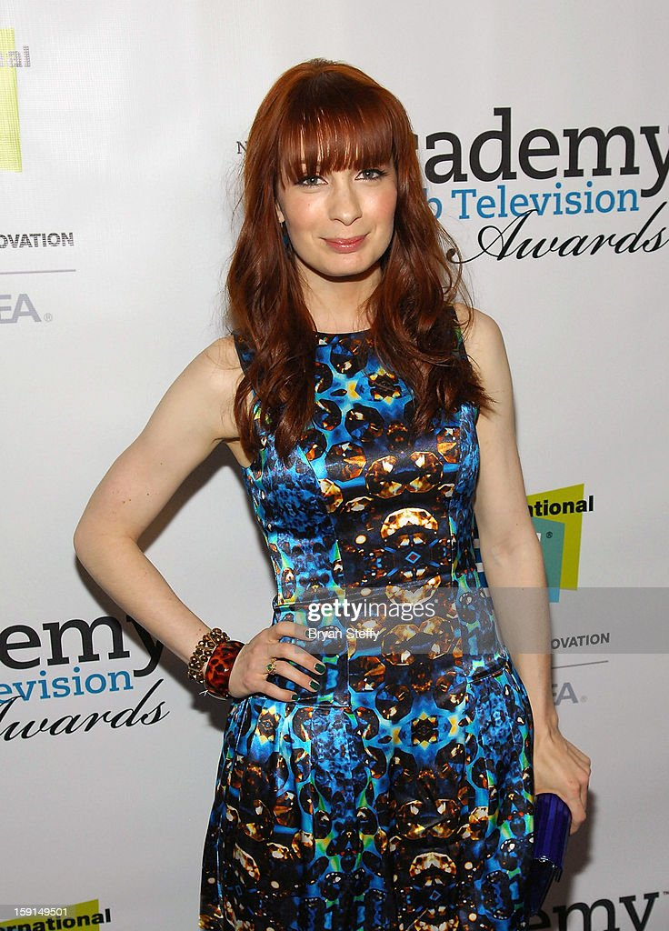 Actress <a gi-track='captionPersonalityLinkClicked' href=/galleries/search?phrase=Felicia+Day&family=editorial&specificpeople=2499112 ng-click='$event.stopPropagation()'>Felicia Day</a> arrives at the IAWTV Awards at the CES 2013 Show at the Palazzo Theater at the Palazzo Resort Hotel/Casinoon January 8, 2013 in Las Vegas, Nevada.