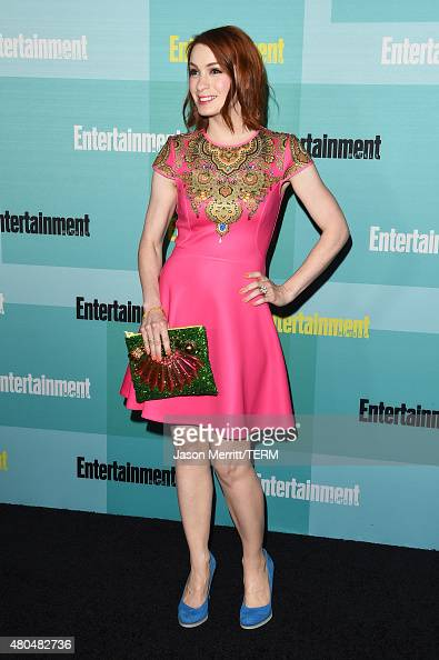 Actress Felicia Day attends Entertainment Weekly's Annual ComicCon Party in celebration of ComicCon 2015 at FLOAT at The Hard Rock Hotel on July 11...