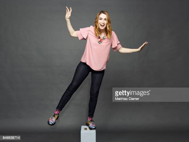 Actress Felicia Day is photographed for Entertainment Weekly Magazine on July 21 2016 at Comic Con in the Hard Rock Hotel in San Diego California