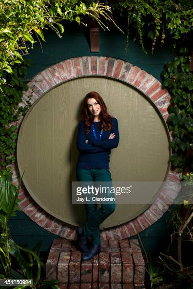 Actress Felicia Day is photographed for Los Angeles Times on September 12 2011 in Beverly Hills California PUBLISHED IMAGE CREDIT MUST READ Jay L...