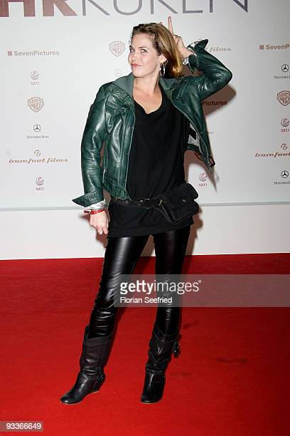 Actress Felicitas Woll attends the premiere of 'Zweiohrkueken' at the Sony Center CineStar on November 24 2009 in Berlin Germany