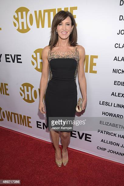 Actress Felicity Huffman attends Showtime's 2015 Emmy Eve Party at Sunset Tower Hotel on September 19 2015 in West Hollywood California