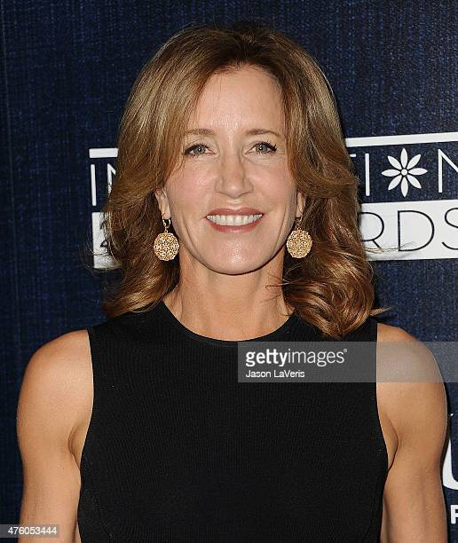 Actress Felicity Huffman attends the 12th annual Inspiration Awards to benefit Step Up at The Beverly Hilton Hotel on June 5 2015 in Beverly Hills...