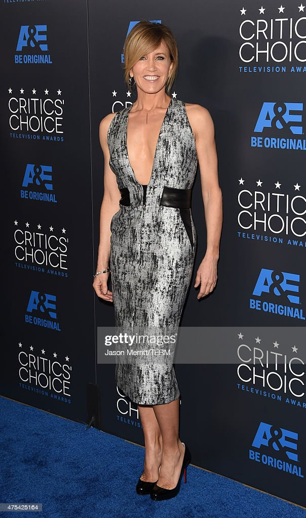 Actress Felicity Huffman attends the 5th Annual Critics' Choice Television Awards at The Beverly Hilton Hotel on May 31, 2015 in Beverly Hills, California.