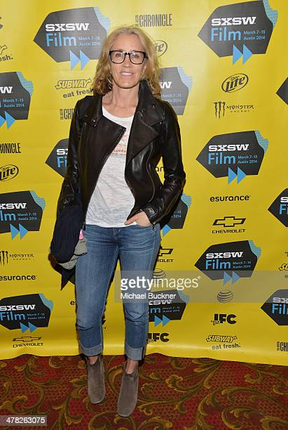 Actress Felicity Huffman attends the premiere of 'Jimi All By My Side' during the SXSW Music Film Interactive Festival at the Paramount Theatre on...