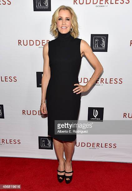 Actress Felicity Huffman attends the Screening Of Samuel Goldwyn Films' 'Rudderless' at the Vista Theatre on October 7 2014 in Los Angeles California