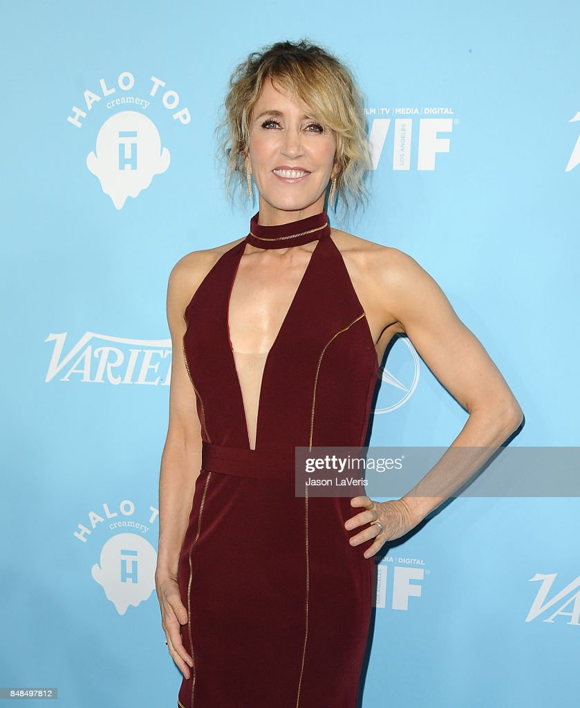 Actress Felicity Huffman attends Variety and Women In Film's 2017 pre-Emmy celebration at Gracias Madre on September 15, 2017 in West Hollywood, California.