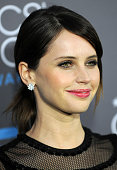 Actress Felicity Jones arrives for The 20th Annual Critics' Choice Movie Awards held at Hollywood Palladium on January 15 2015 in Los Angeles...