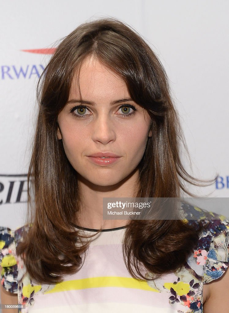 Actress Felicity Jones attends the Variety Studio presented by Moroccanoil at Holt Renfrew during the 2013 Toronto International Film Festival on September 8, 2013 in Toronto, Canada.