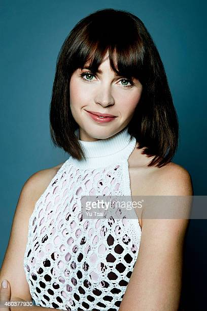 Actress Felicity Jones is photographed at the Toronto Film Festival for Variety on September 6 2014 in Toronto Ontario