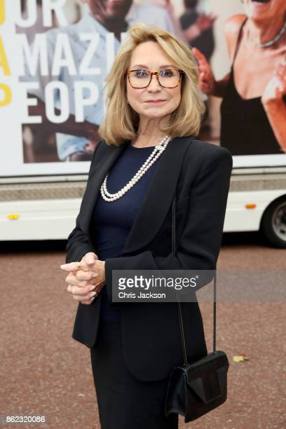 Actress Felicity Kendall attends a reception hosted by The Duchess of Cornwall to celebrate the launch of the 'Our Amazing People' campaign at...