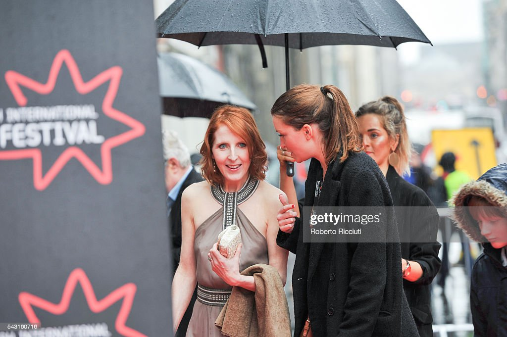 Actress Fenella Woolgar attends the EIFF Closing Night Gala and World Premiere of 'Whisky Galore!' during the 70th Edinburgh International Film Festival at Festival Theatre on June 26, 2016 in Edinburgh, United Kingdom.