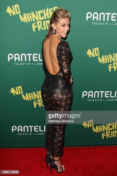 Actress Fernanda Castillo attends the premiere of Pantelion Films' 'No Manches Frida' at Regal LA Live Stadium 14 on August 30 2016 in Los Angeles...