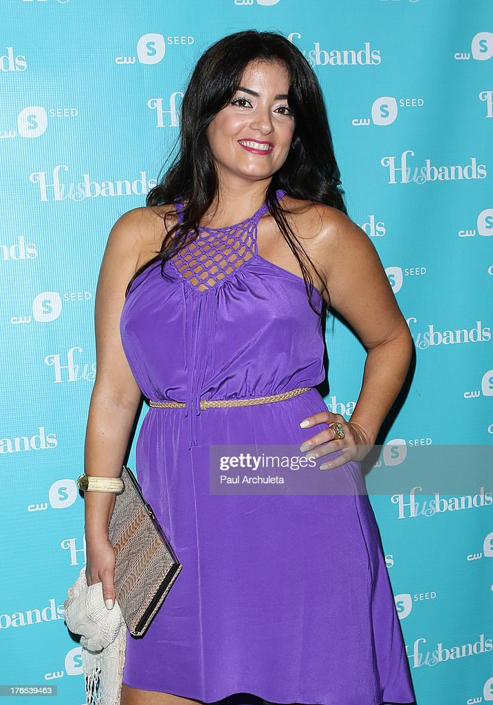 Actress Fernanda Espindola attends the premiere of 'Husbands' at The Paley Center for Media on August 14, 2013 in Beverly Hills, California.