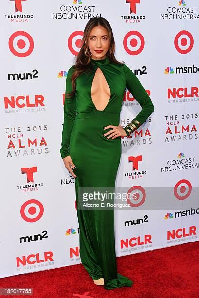 Actress Fernanda Romero arrives at the 2013 NCLR ALMA Awards at Pasadena Civic Auditorium on September 27 2013 in Pasadena California