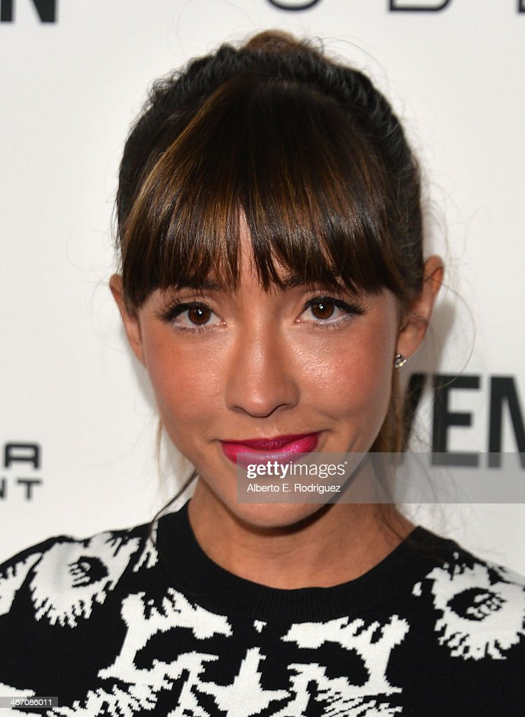 Actress <a gi-track='captionPersonalityLinkClicked' href=/galleries/search?phrase=Fernanda+Romero&family=editorial&specificpeople=2330305 ng-click='$event.stopPropagation()'>Fernanda Romero</a> arrives to the premiere of 'Cavemen' at the ArcLight Cinemas on February 5, 2014 in Hollywood, California.