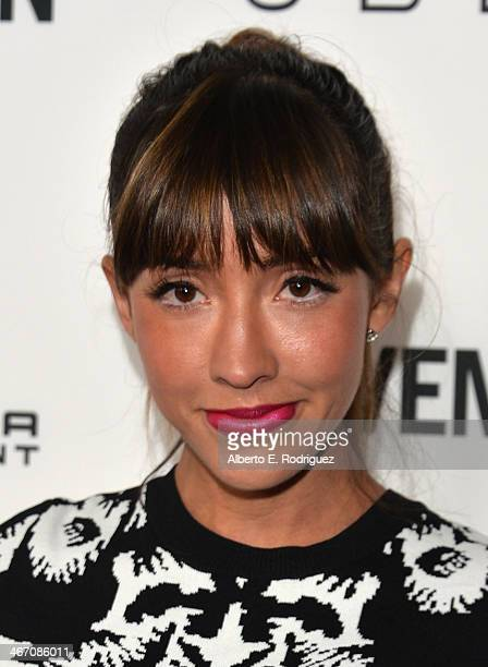 Actress Fernanda Romero arrives to the premiere of 'Cavemen' at the ArcLight Cinemas on February 5 2014 in Hollywood California
