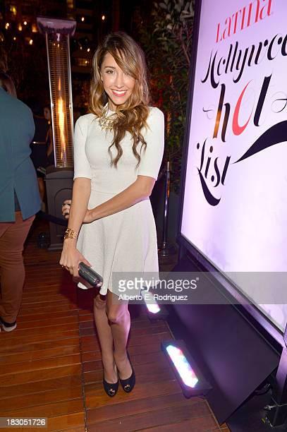 Actress Fernanda Romero attends Latina Magazine's 'Hollywood Hot List' party at The Redbury Hotel on October 3 2013 in Hollywood California