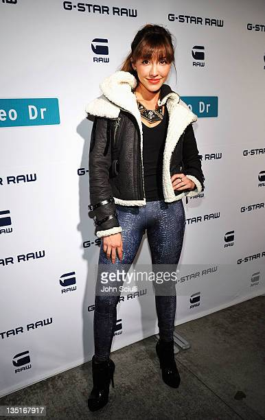Actress Fernanda Romero attends the GStar Rodeo Drive Store Opening on December 6 2011 in Beverly Hills California