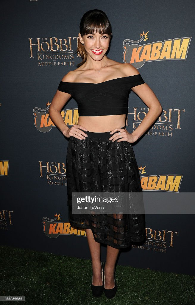Actress <a gi-track='captionPersonalityLinkClicked' href=/galleries/search?phrase=Fernanda+Romero&family=editorial&specificpeople=2330305 ng-click='$event.stopPropagation()'>Fernanda Romero</a> attends 'The Hobbit: The Desolation Of Smaug' expansion pack game launch at Eveleigh on December 11, 2013 in West Hollywood, California.