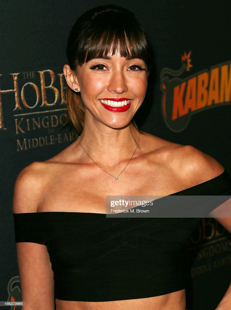 Actress <a gi-track='captionPersonalityLinkClicked' href=/galleries/search?phrase=Fernanda+Romero&family=editorial&specificpeople=2330305 ng-click='$event.stopPropagation()'>Fernanda Romero</a> attends 'The Hobbit:The Desolation of Smaug' Expansion Pack Mobile Game Launch at Eveleigh on December 11, 2013 in West Hollywood, California.