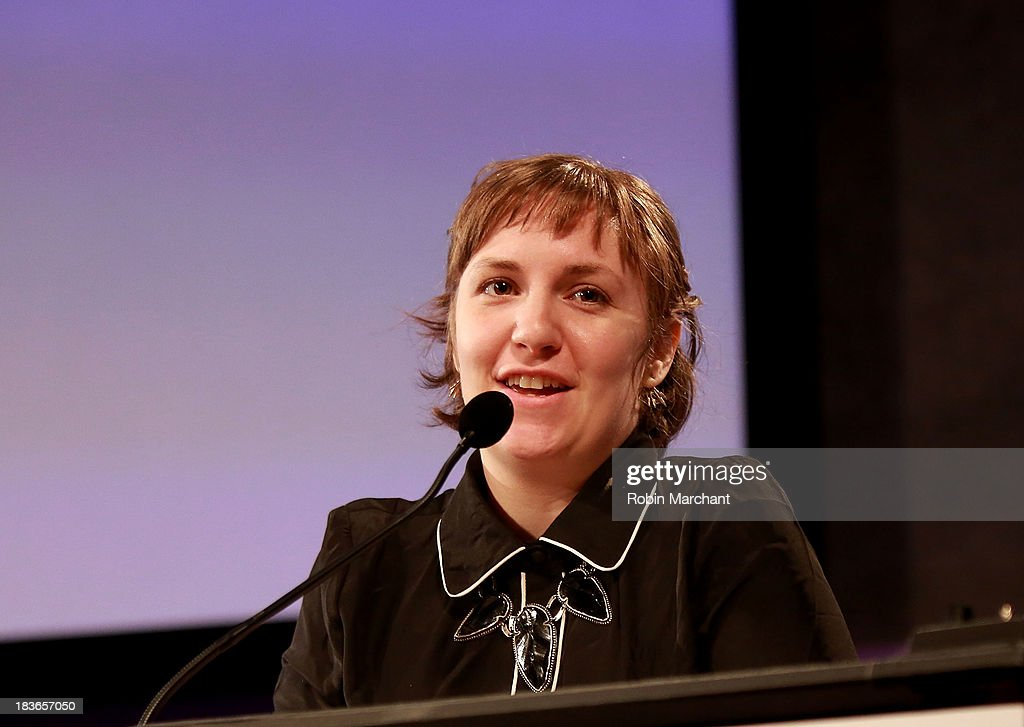Actress/ filmmaker Lena Dunham attends Women in the Workplace: Reducing Stress With Meditation at Paley Center For Media on October 8, 2013 in New York City.
