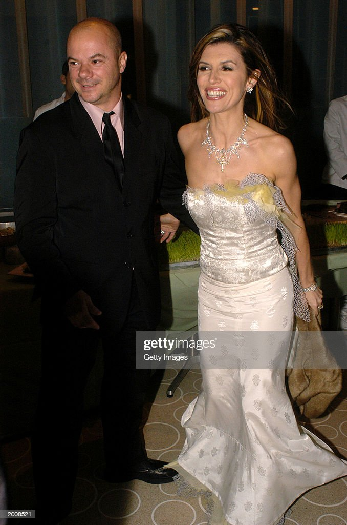 Actress Finola Hughes and her husband, Russell, appear at the ABC after party for the 30th Annual Daytime Emmy Awards at the Sea Grill Restaurant May 16, 2003 in New York City.