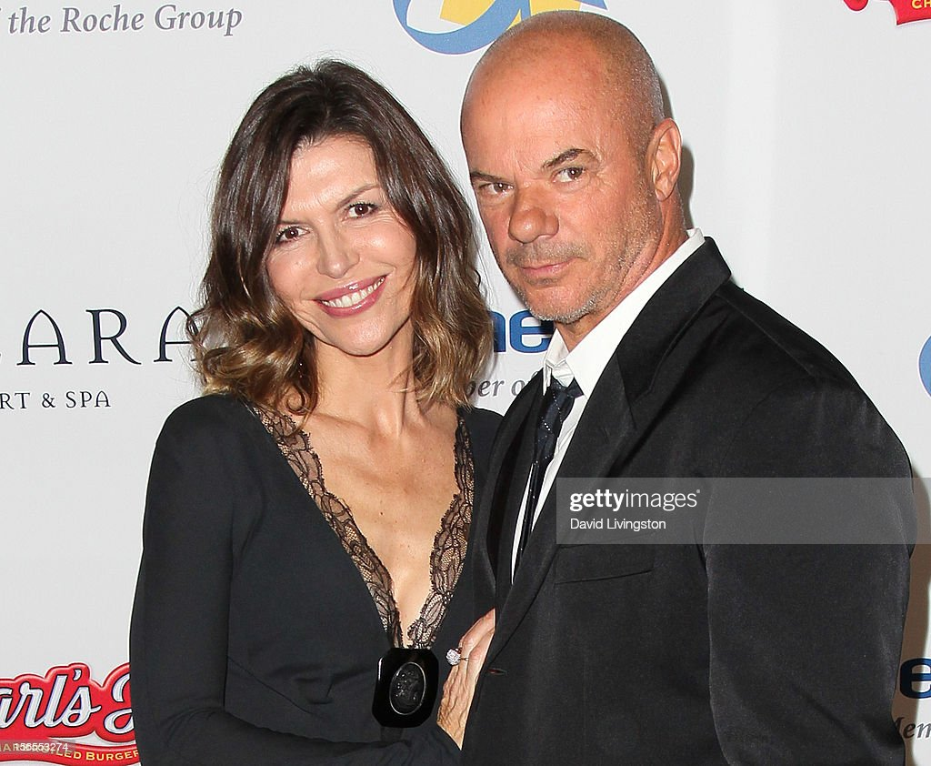 Actress Finola Hughes (L) and husband artist Russell Young attend the Dream Foundation's 11th Annual Celebration of Dreams at Bacara Resport and Spa on November 16, 2012 in Santa Barbara, California. Dream Foundation is a national organization that serves the final wishes of adults - and their families - facing life-threatening illness.