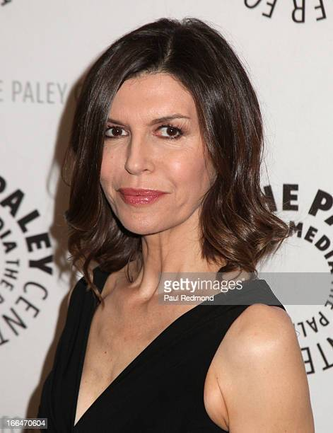 Actress Finola Hughes arrives at The Paley Center For Media Presents 'General Hospital Celebrating 50 Years And Looking Forward' at The Paley Center...