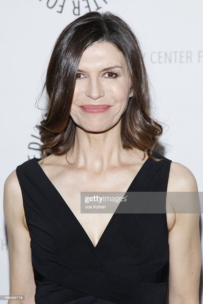 Actress Finola Hughes attends 'General Hospital celebrating 50 years and looking forward' at The Paley Center for Media on April 12, 2013 in Beverly Hills, California.
