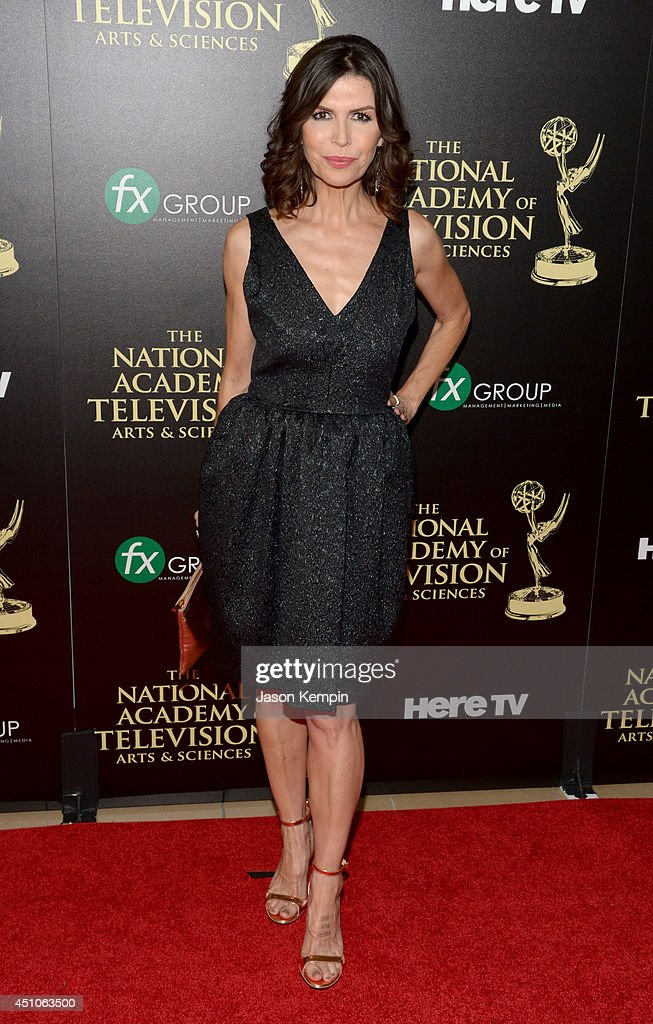 Actress Finola Hughes attends The 41st Annual Daytime Emmy Awards at The Beverly Hilton Hotel on June 22, 2014 in Beverly Hills, California.